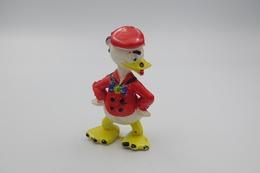 Vintage FIGURE : HEIMO Donald Duck - 1960-70's - RaRe  - Figuur - Walt Disney Productions - PVC - Figurines