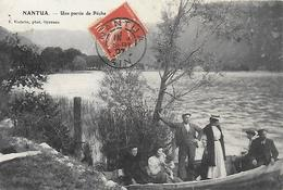 01)   NANTUA  - Une Partie De Pêche - Nantua
