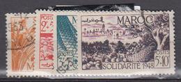 MAROC      1949     N °   271 / 274           COTE        7 € 00        ( 1682 ) - Maroc (1891-1956)