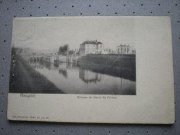 NIEUPORT - ECLUSES DU CANAL DE FURNES 1903 - NELS SERIE 80 N 45 - Nieuwpoort