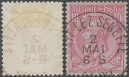 "émission 1884 - N°46 Obl Simple Cercle ""Fayt-Lez-Seneffe"" - 1884-1891 Leopoldo II"
