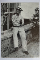 """(11/9/69) Postkarte/AK """"Hermann Hesse"""" 1938 In Montagnola - Premi Nobel"""