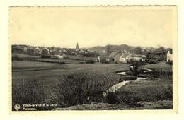 A0016[Postkaart] Villers-la-Ville Et La Thyle / Panorama. (Nels) [vue Générale Rivier Rivière] - Villers-la-Ville