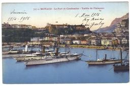 Monaco Le Port Et Condamine Yachts De Plaisance - Hafen