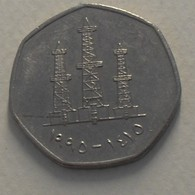 1995 - Emirats Arabes Unis - United Arab Emirates - 1415 - 50 FILS - KM 16 - Emirats Arabes Unis