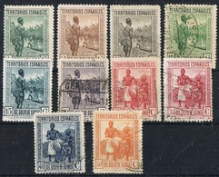 Sellos Varios, GUINEA Española 1931, Num 203 - 211 º/* - Guinea Española