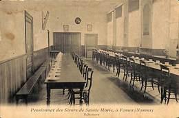 Pensionnat Des Soeurs De Sainte Marie à Fosses  - Réfectoire (prix Fixe) - Fosses-la-Ville