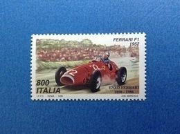 1998 ITALIA FRANCOBOLLO NUOVO ITALY STAMP NEW MNH** AUTO FERRARI F1 1952 - 6. 1946-.. Repubblica