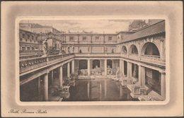 Roman Baths, Bath, Somerset, 1910 - Frith's Postcard - Bath