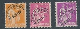DM-29: FRANCE: Lot Avec Préo N°75**-76**-77** - Préoblitérés