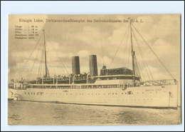 XX006828/ Dampfer Königin Luise  Seebäderdienst AK Ca.1912 - Steamers