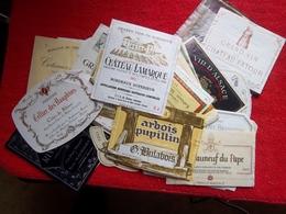 Etiquettes - Vin & Champagne  Prix Pour Le Lot ! - Collections & Sets