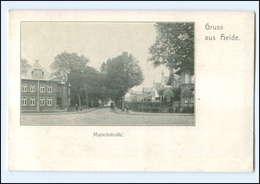 U7884-2240/ Heide  Marschstraße AK 1917 - Zonder Classificatie