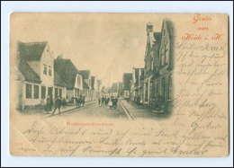 U7865-2240/ Gruß Aus Heide  Weddingstedterstraße AK 1901 - Zonder Classificatie