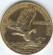 Solomon Islands - Elizabeth II - 1 Dollar - 1998 - Nordic Gold Version - KM64 - Salomonen