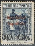 Sello Habilitado 30 Cts Sobre 40 Cts, GUINEA Española 1937,  Num 253 º - Guinea Española