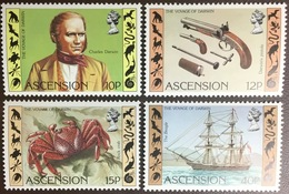 Ascension 1982 Darwin Anniversary Crabs MNH - Ascension (Ile De L')