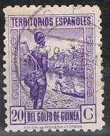 Sello 20 Cts Azul GUINEA Española 1932, NO EMITIDO, Edifil Num NE-11C º - Guinea Española