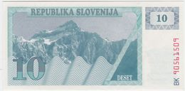 Slovenia P 4 - 10 Tolarjev 1990 - AUNC - Slovénie