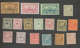 NEW CALEDONIA(French)1902-3:Yrt.88-104mh*(Yvrt91 Is Without Gum) Cat.Value33Euros($36) - Nouvelle-Calédonie