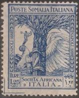 Italia Colonie Somalia 1927 SaN°115 MH/* Vedere Scansione - Somalia