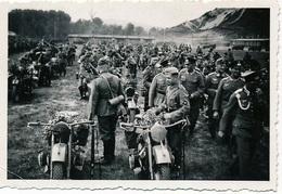 Orig Photo All WW2 : Soldats Et Motos . - 1939-45