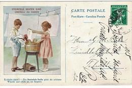 1915, Selt. Privat-GSK, Vs. Abbildung  , A3750 - Stamped Stationery