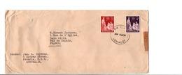 GB AUSTRALIE LETTRE POUR LA FRANCE 1959 - 1952-65 Elizabeth II : Pre-Decimals