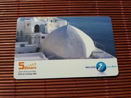 PREPAIDCARD TUNESIA 5 DINARS USED RARE - Tunesien