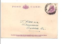 AUSTRALIE QUEENSLAND CARTE DE KINGAROY - Covers & Documents