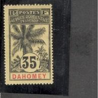 DAHOMEY1906-7:Yvert26mh*  Cat.Value100Euros($110) - Unused Stamps