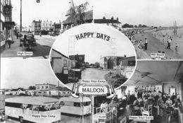 CARTE 5 VUES SUR MALDON - HIGH STREET - MILL BEACH - HAPPY DAYS CAMP ......... - Andere