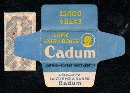 Rasage. Razor Blade. Lame De Rasoir Cadum. Made In France. - Razor Blades