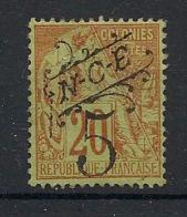 Nouvelle Calédonie - 1892 - N°Yv. 36 - 5c Sur 20c Brique - Très Bon Centrage - Neuf * / MH VF - Neukaledonien