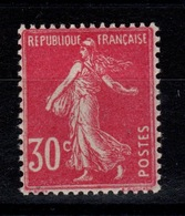 Semeuse YV 191a N** Type IIa Parfaitement Centré Cote 5+ Euros - Unused Stamps