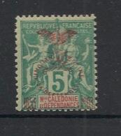 Nouvelle Calédonie - 1903 - N°Yv. 70b - 5c Vert - CINQUANTENA RE - Neuf * / MH VF - Ongebruikt