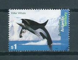 1995 AAT $1 Killer Whale Used/gebruikt/oblitere - Territorio Antártico Australiano (AAT)