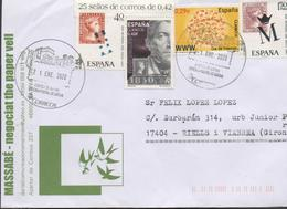 3504   Carta Xativa Valencia  2020 ,fechador Especial Castell De Xativa, Castillo De Xativa, - 1931-Heute: 2. Rep. - ... Juan Carlos I