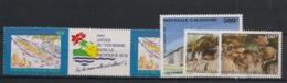 Nouvelle Calédonie - 1995 - Poste Aérienne PA N°Yv. 327A à 330 Complet - 5 Valeurs - Neuf Luxe ** / MNH / Postfrisch - Poste Aérienne