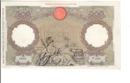 100 Lire Roma Guerriera 13 02 1943 L'aquila Fascio Pressato Nc Spl+  LOTTO 3215 - 100 Lire