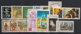 Nouvelle Calédonie - Année Complète 1983 - N°Yv. 466 à 480 - 15 Valeurs - Neuf Luxe ** / MNH / Postfrisch - Neufs