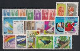 Nouvelle Calédonie - Année Complète 1985 - N°Yv. 491 à 511 - 21 Valeurs - Neuf Luxe ** / MNH / Postfrisch - Neufs