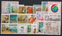 Nouvelle Calédonie - Année Complète 1988 Sauf 559 - N°Yv. 549 à 567 - 18 Valeurs - Neuf Luxe ** / MNH / Postfrisch - Neufs