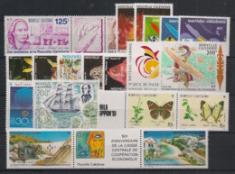 Nouvelle Calédonie - Année Complète 1991 - N°Yv. 607 à 628 - 22 Valeurs - Neuf Luxe ** / MNH / Postfrisch - Nouvelle-Calédonie