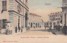 Liguria - Imperia - Oneglia - Piazza Maria Teresa - Palazzo Postale  - F. Piccolo - Molto Bella Animata - Imperia