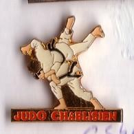 C54 Pin's Judo Chablisien CHABLIS Yonne BOURGOGNE Achat Immédiat - Judo