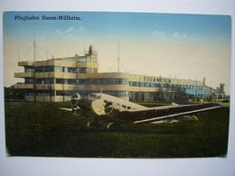 Avion / Airplane / LUFTHANSA / Junkers JU-52 / Seen At Essen-Mülheim Airport - 1919-1938