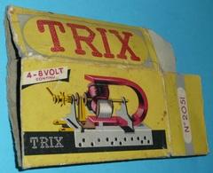 Rare Ancienne Boite Vide Abimée Jouet TRIX N°2051 électro-aimant - Autres Collections