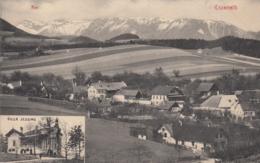 """AK - NÖ  - ENZENREITH  - Ortsansicht Mit Villa """"Jessing"""" 1907 - Neunkirchen"""
