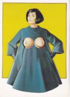Postcard - Art - Mel Ramos - Blue Coat (1966) - VG - Cartes Postales